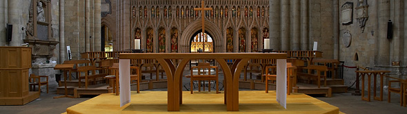 Table Ripon Cathedral